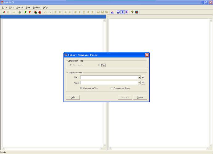 AptDiff文件进行比较和合并工具 V1.5.0绿色免费版