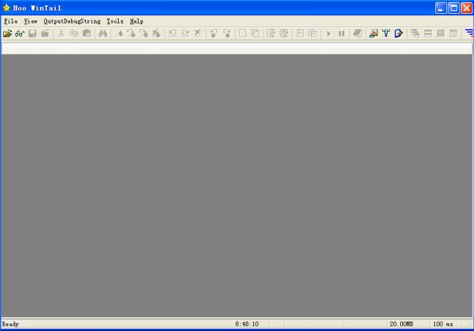 Hoo WinTail查看增大的文件尾部 V3.6 build 971绿色特别版