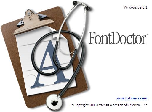 FontDoctor 2.6.1绿色特别版