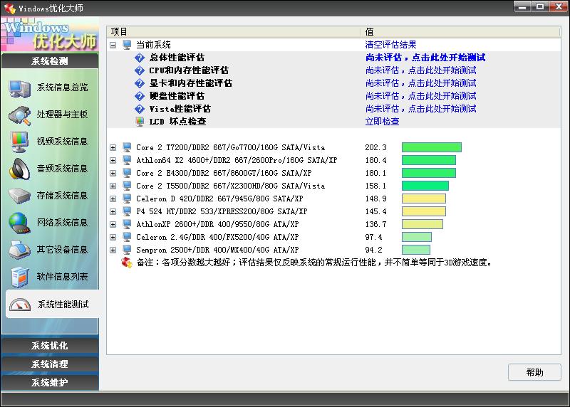 Windows优化大师专业版 7.99 Build 13.0604去广告绿色版