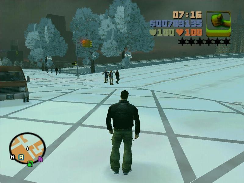 侠盗猎车:冰封之城 绿色免费硬盘版