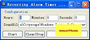 Recurring Alarm Timer定时报警器 V1.1绿色版