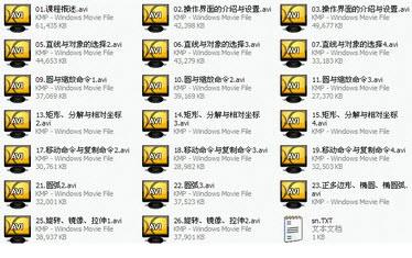 AutoCAD 2010 欧特克从入门到精通视频教程 完全版