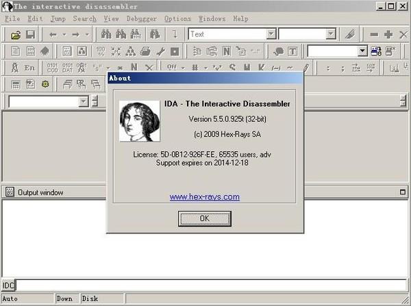 源码恢复反汇编静态分析工具IDA pro V6.9汉化特别版