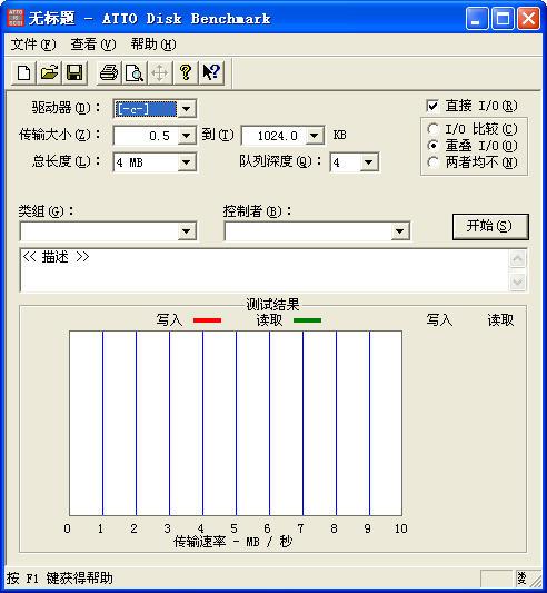 U盘传输速度检测工具 绿色免费版