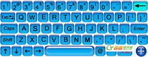 触摸屏虚拟键盘工具 V3.1
