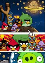 360安全桌面《愤怒的小鸟:太空版》