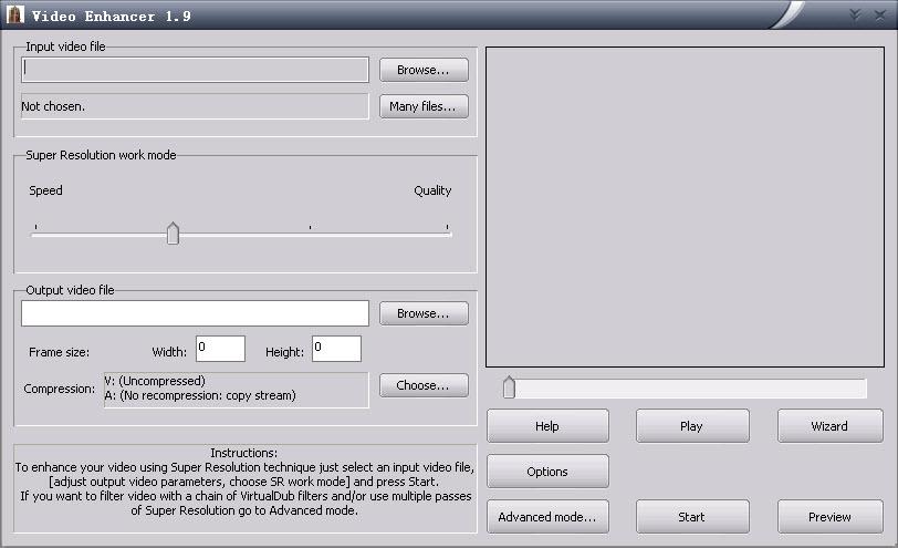 电影去马赛克工具(Video Enhancer) V1.9.10.1 绿色破解版