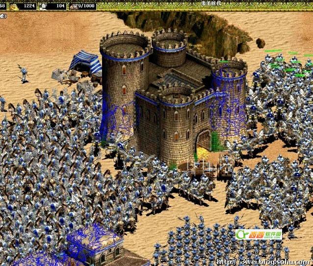 帝国时代2骑士时代 1.75 中文版