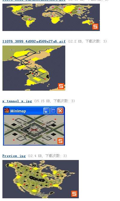 红警2 世界地图 完整版