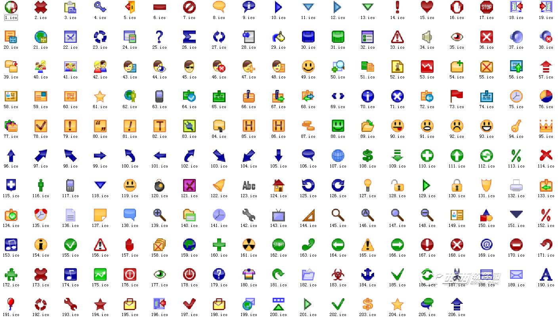 按钮图标素材(206)下载西西制作_西西软件下载