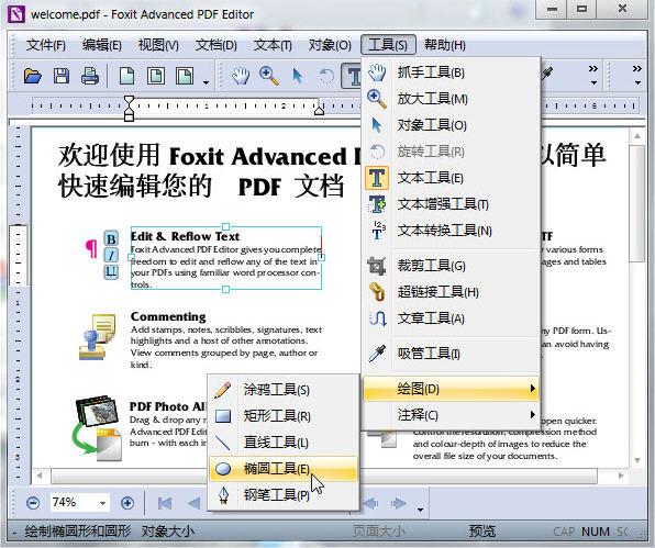 福昕pdf编辑工具组件(Foxit Advanced PDF Editor) V3.0.5 中文版