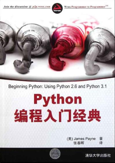 Python编程入门经典 PDF中文版