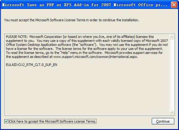 PPT2007转存为PDF的插件