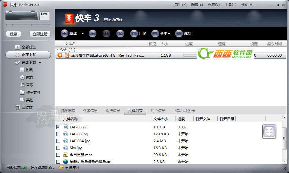 快车(FlashGet) 3.7.0.1222 去广告精简版
