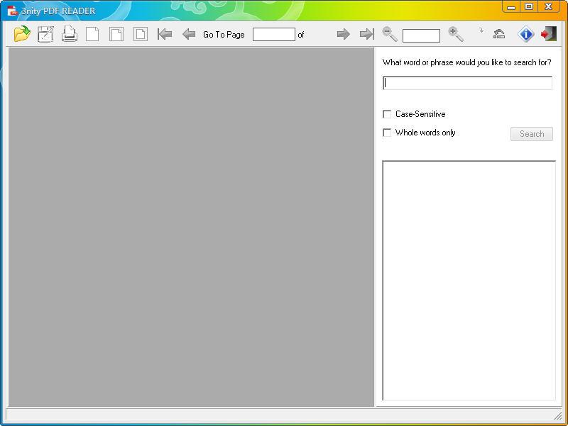 PDF阅读器(3nity PDF READER) v1.0 官方绿色版