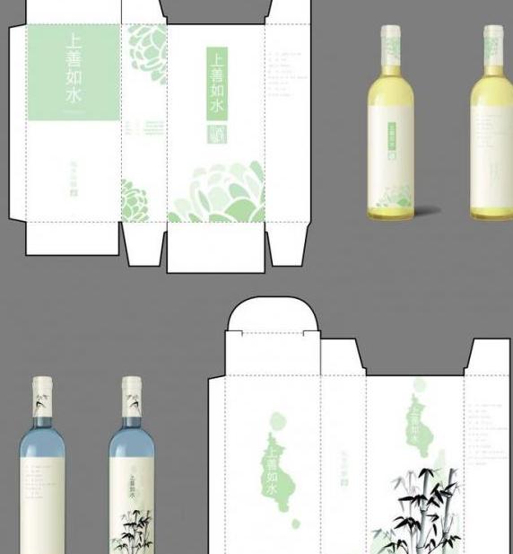 酒包装设计图片PSD素材
