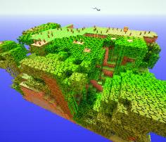 我的世界空岛生存地图mod绿色版