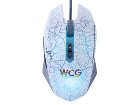 达尔优牧马人wcg白色版游戏鼠标驱动 v1.1 官方最新版