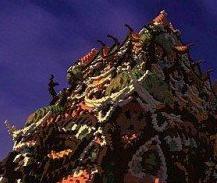 我的世界万圣节魅影谜团宫殿地图存档1.0 绿色版