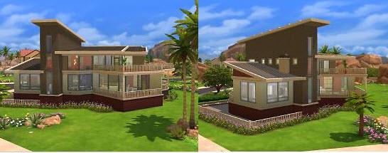 模拟人生4现代风别墅mod下载