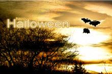 万圣节快乐happy Halloween蝙蝠主题PPT模板