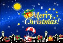2015圣诞音乐贺卡PPT模板
