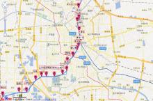 天津地铁3号线线路图2016最新版