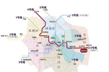 天津地铁4号线线路规划图