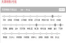 天津地铁5号线线路规划图