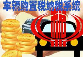 车辆购置税纳税系统