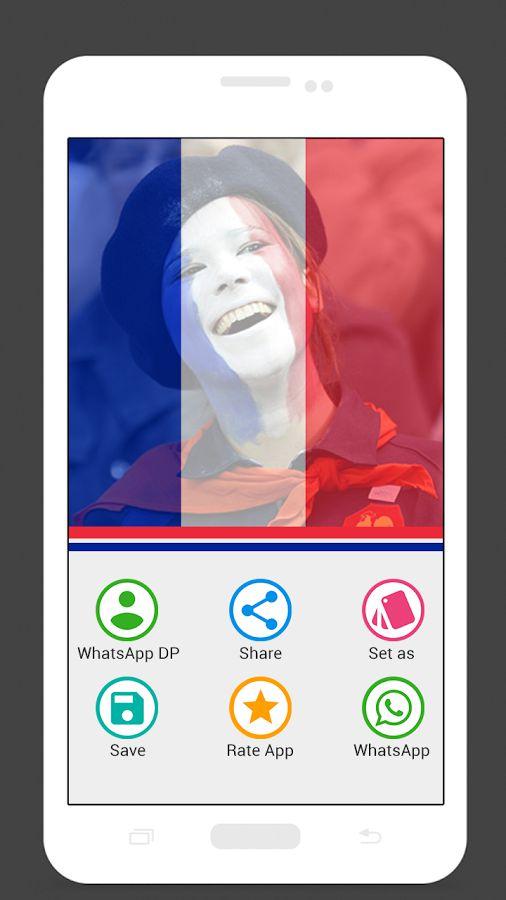 声援法国图片制作器Support France Photo Maker v1.0安卓版
