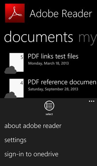 AdobeReaderWP8版 10.4.4.0 官方版