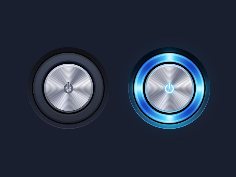 pdf软件_圆形质感旋钮图标设计PSD素材下载_西西软件下载