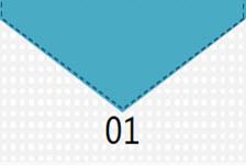 时尚缝线风格创意图表PPT模板