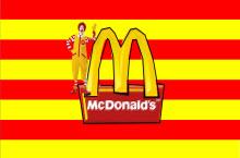 麦当劳企业发展史与物流案例分析PPT模板