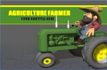 卡通农场主题PPT模板