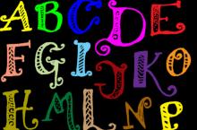 33款ps涂鸦字母符号笔刷