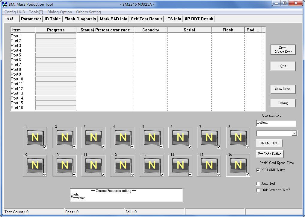 慧荣SM2246AA SSD量产工具 MPN0325A版