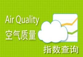 空气质量指数查询