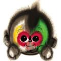 2016猴年春晚吉祥物康康图片
