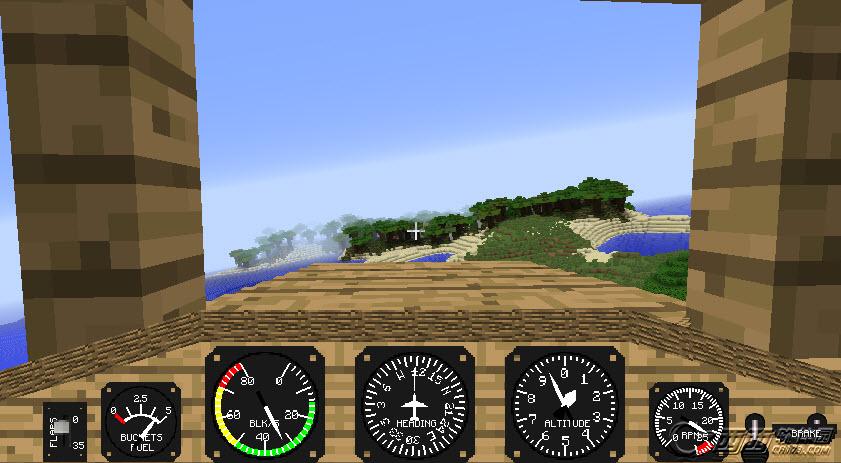 我的世界1.7.10真实飞机mod 绿色版