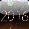 2016新年烟花动态手机壁纸