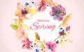春季主题元素图片矢量素材