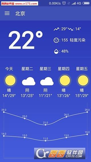 简易天气 V1.0.05  官方安卓版
