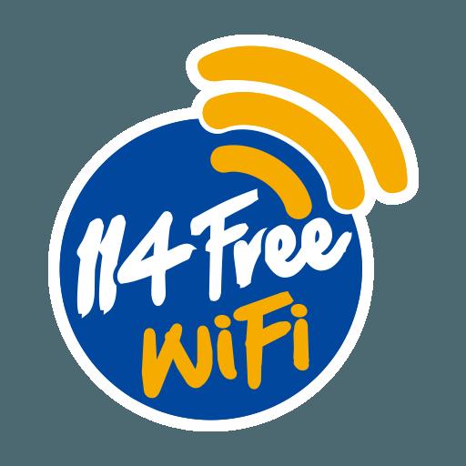 114Free WiFi app