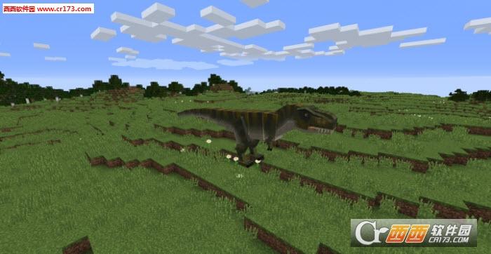 我的世界侏罗纪世界恐龙乐园mod 我的世界籽岷侏罗纪世界恐龙乐园