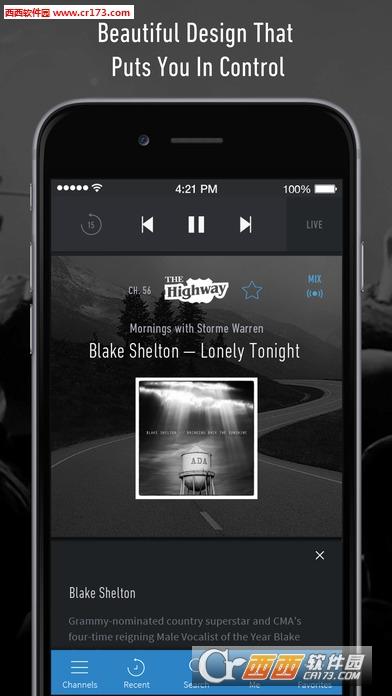 siriusxm卫星收音机app 1.2苹果版