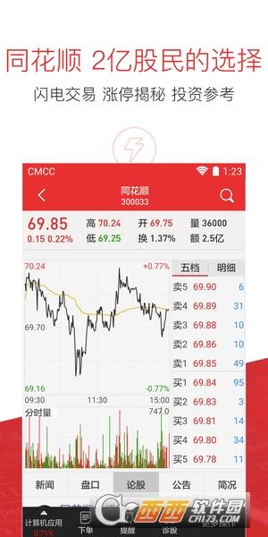 同花顺手机炒股软件 9.59.03  官方安卓版