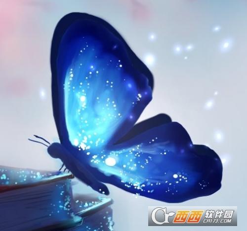 wallpaper engine 星空蓝蝶动态壁纸 最新版